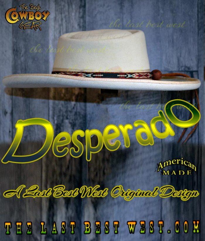 Desperado cowboy hat