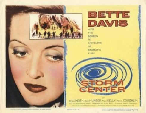 Storm Center Bette Davis