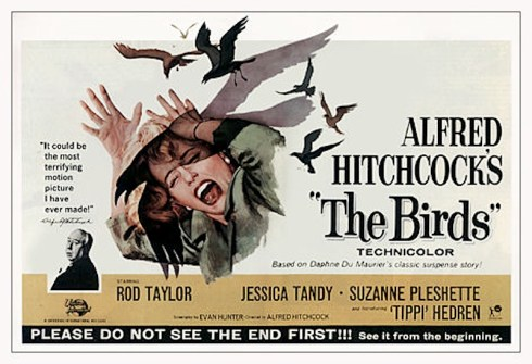 The Birds film poster
