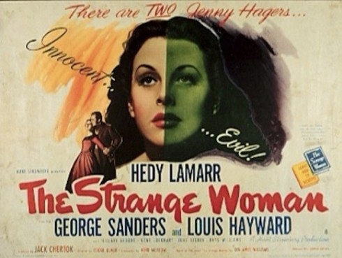The Strange Woman poster