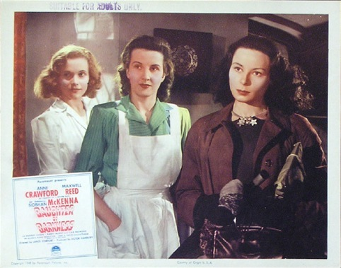 Daughter of Darkness Lobby Card
