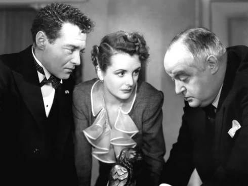 The Maltese Falcon Astor, Lorre and Greenstreet