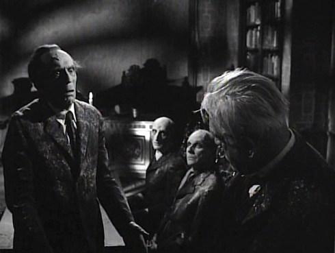 Karloff Doktor Markesan and the dead scientist
