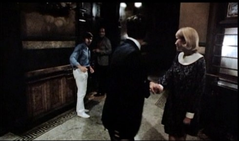 polanski in hall shot with Mia and John color