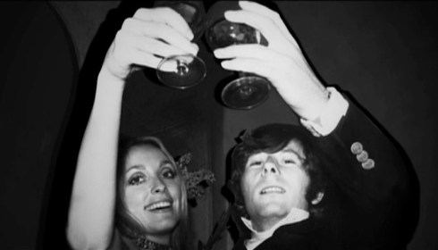 Sharon Tate and Roman