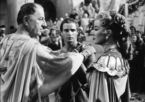 Louis Calhern Marlon Brando Julius Caesar 1953