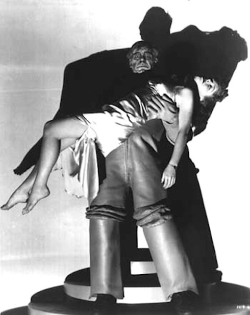Lon Chaney Jr and Anne Nagel Man Made Monster