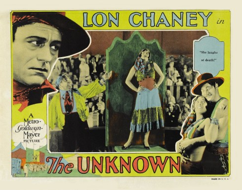 Poster - Unknown, The (1927)_02