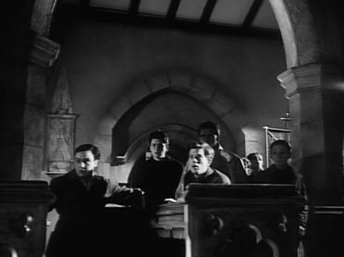 The Local boys try to find the mystery behind the nightly sinister organ music