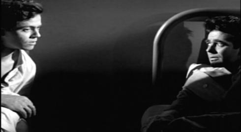 Dale nighttime in bed noir