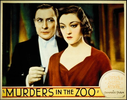 murders-in-the-zoo-1933-lobby-card-lionel-atwill-kathleen-burke