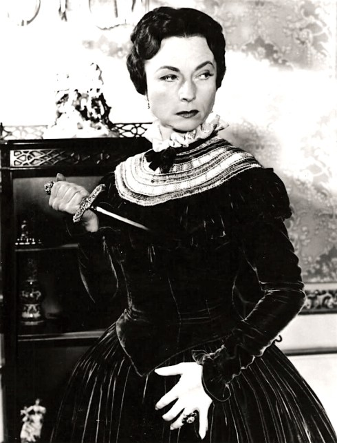 024-agnes-moorehead-theredlist-Agnes Moorehead in The Women in White directed by Peter Godfrey, 1948