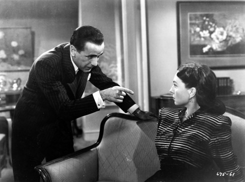 044-agnes-moorehead-theredlist-Humphrey Bogart and Agnes Moorehead in Dark Passage directed by Delmer Daves, 1947