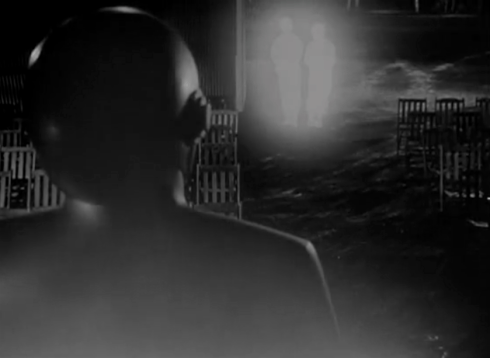 day the earth stood still GORT blasts two soldiers decompose into light
