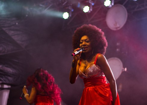 Boney M at The Beatyard 2016 (Photo by Stephen White) 6
