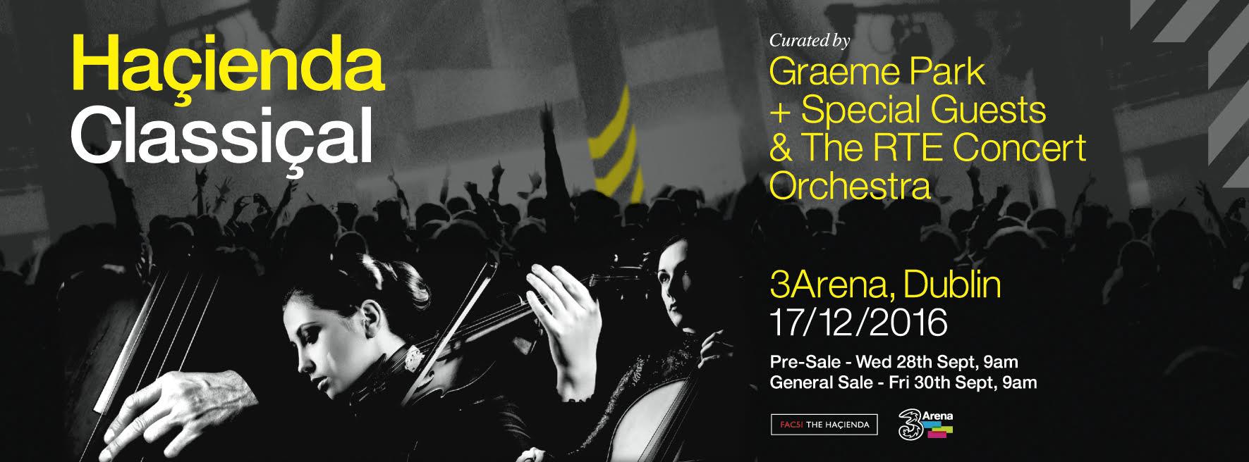 Haçienda Classical set for Dublin's 3Arena with Peter Hook, Rowetta & more