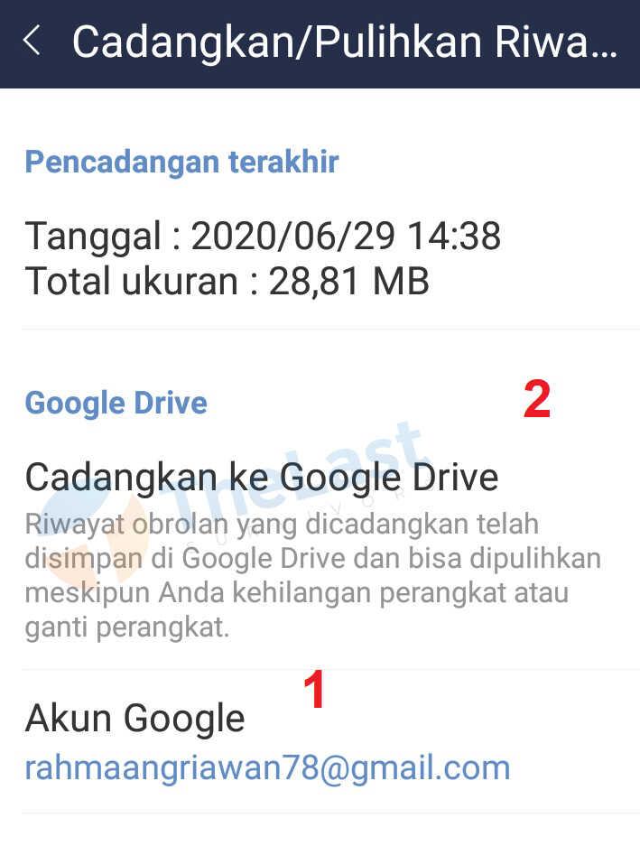 44+ Cara Melihat File Backup Line Di Google Drive mudah