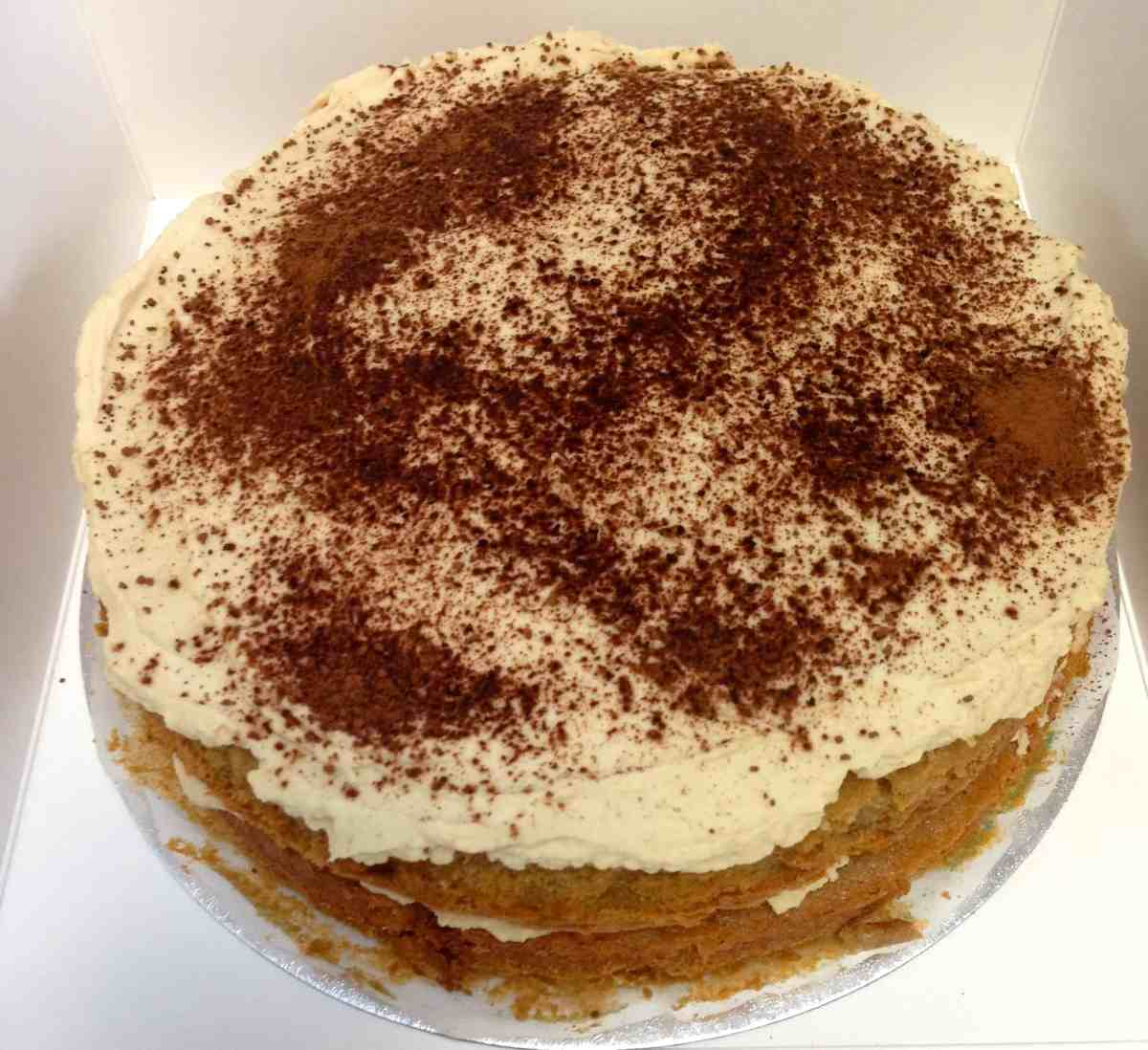 Capuccino Cake by The Late Chef