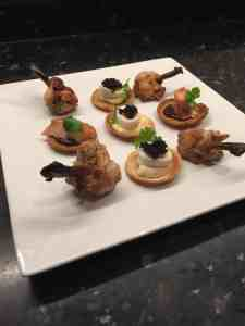Business Catering Canapes The Late Chef
