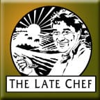 The Late Chef Logo