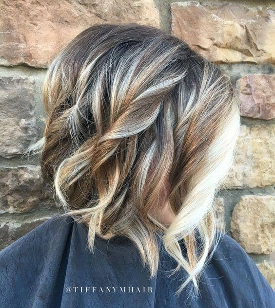 Platinum Front Lowlight Curls