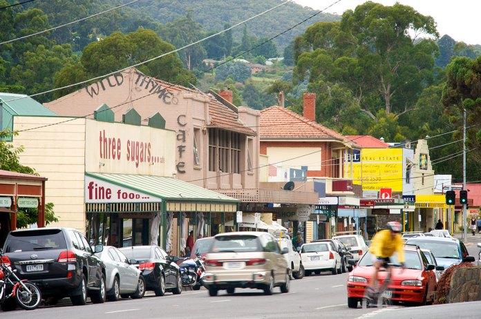 Warburton main street