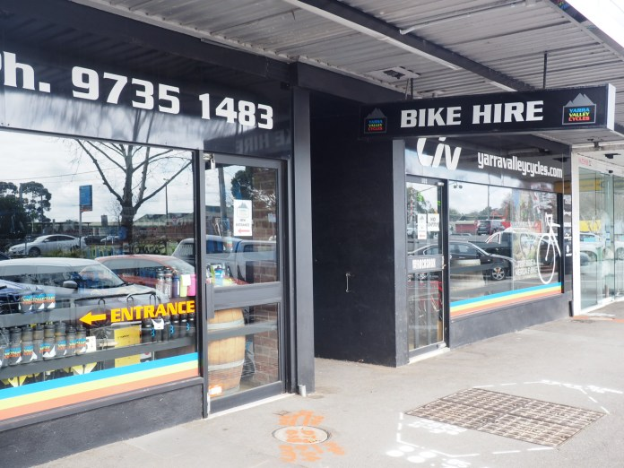 Yarra Valley Cycles Bike Hire