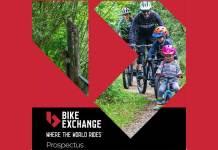 BikeExchange's prospectus cover.