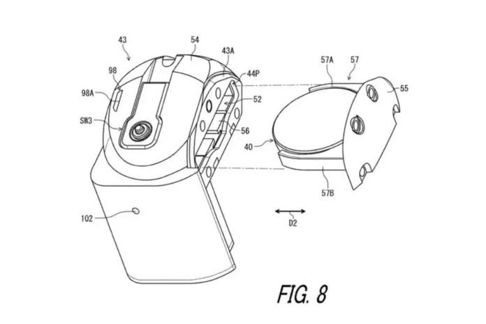 Shimano Patent Drawing