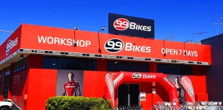 99 Bikes Macgregor Shop front
