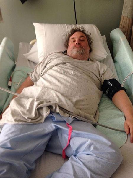 Artie Lange Hospitalized
