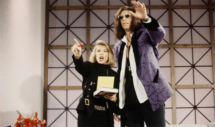 Joan Rivers and Howard Stern