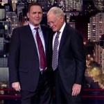 """Norm Macdonald issued a tearful """"I love you,"""" farewell to David Letterman"""