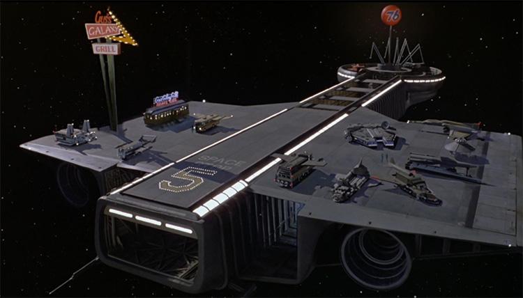 Spaceballs Millennium Falcon