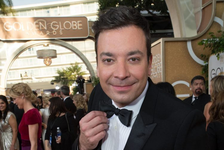Jimmy Fallon Golden Globes