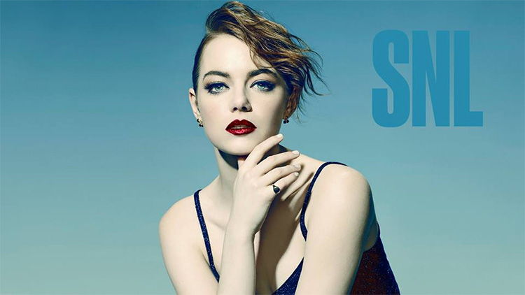 Emma Stone SNL Bumpers