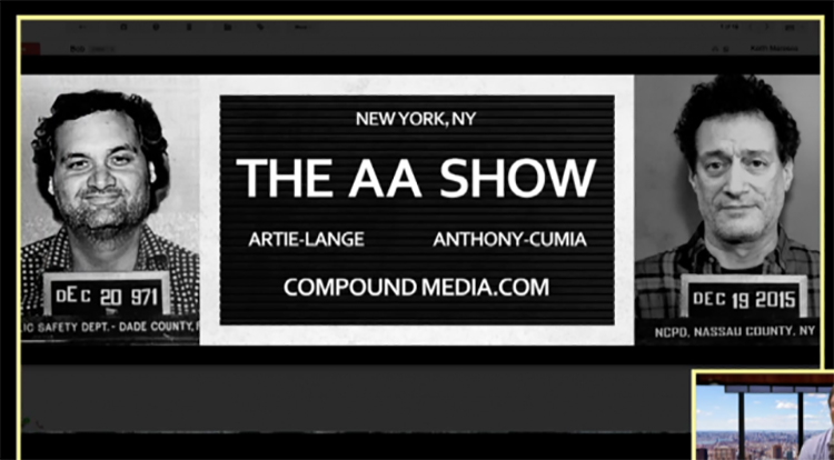 Artie Lange and Anthony Cumia are starting a show together on Compound Media