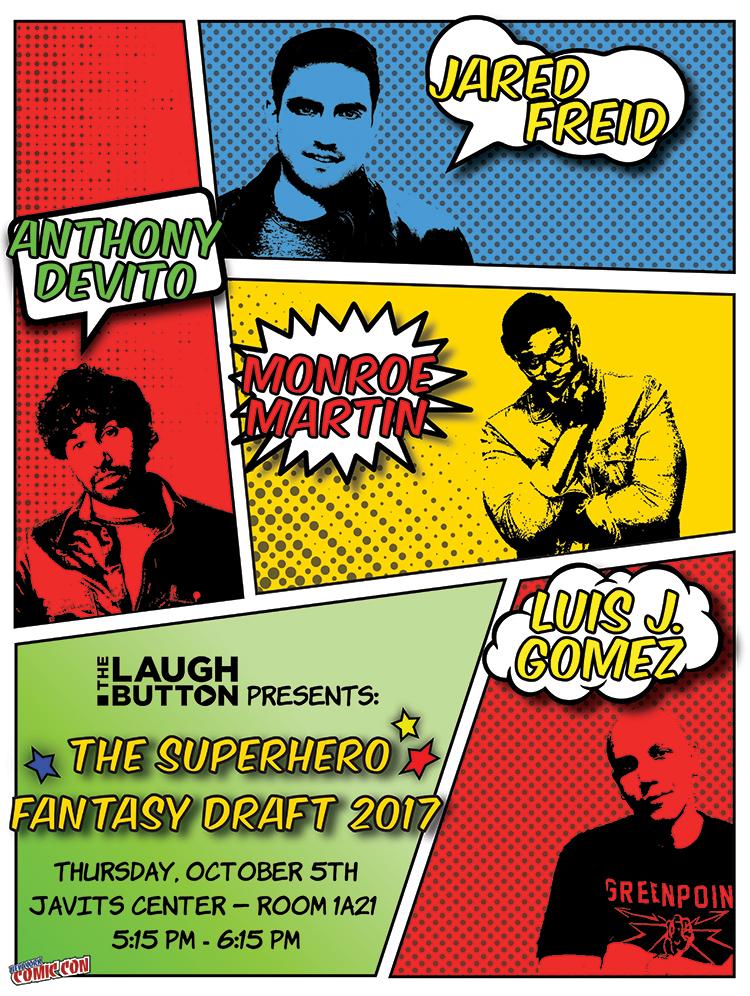 Superhero Fantasy Draft 2017