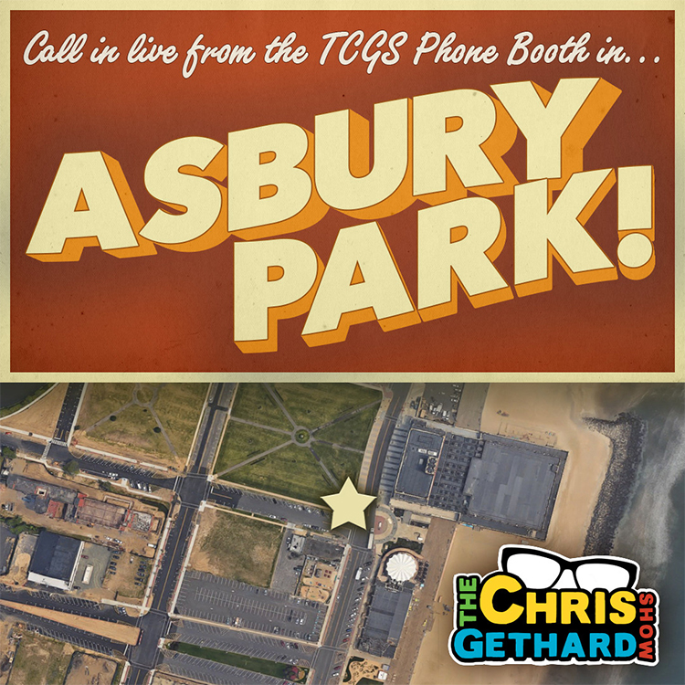 "Call into ""The Chris Gethard Show"" tonight live from a phone booth in Asbury Park, NJ"
