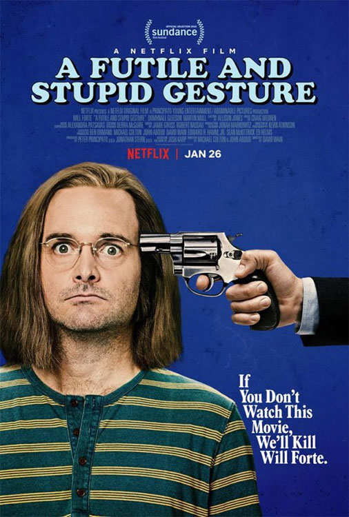 Futile And Stupid Gesture movie poster