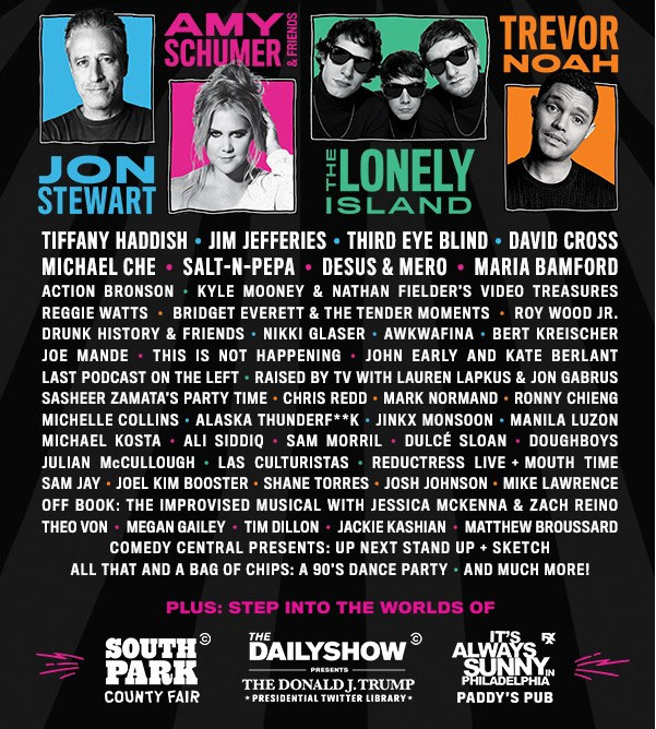 Clusterfest 2018 lineup