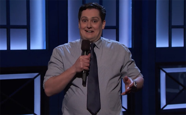"Joe Machi went on ""Conan"" to break the notion that you can't run from your problems"