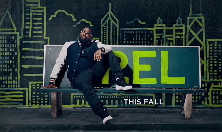 "Here's a look at Lil Rel Howery's new FOX sitcom, ""Rel"""