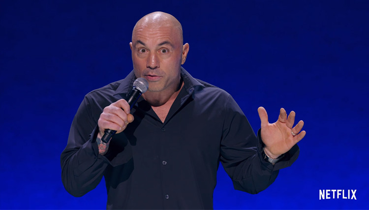 "Watch the trailer for Joe Rogan's new Netflix special, ""Strange Times"""