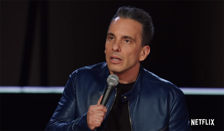 "Sebastian Maniscalco's new stand-up special, ""Stay Hungry"" set to premiere on Netflix January 15th"