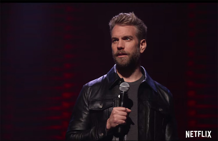 "Check out a new joke from Anthony Jeselnik's new special, ""Fire In The Maternity Ward"""