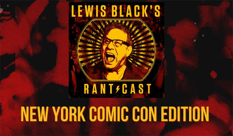 Rantcast: NY Comic Con Edition