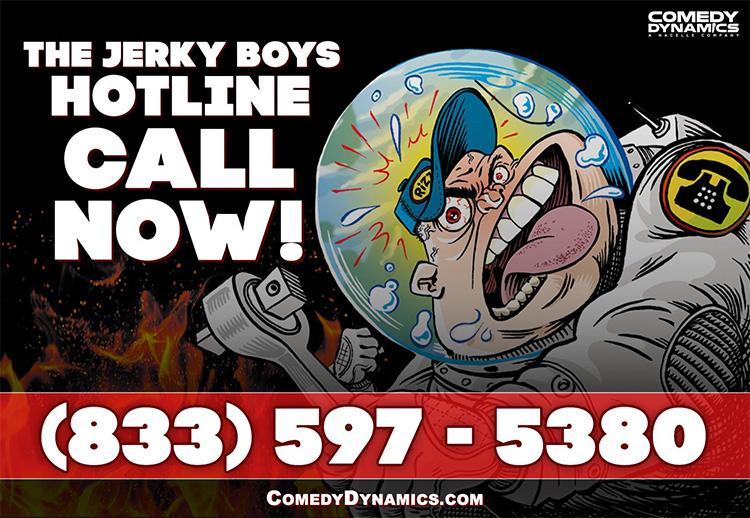 The Jerky Boys hotline