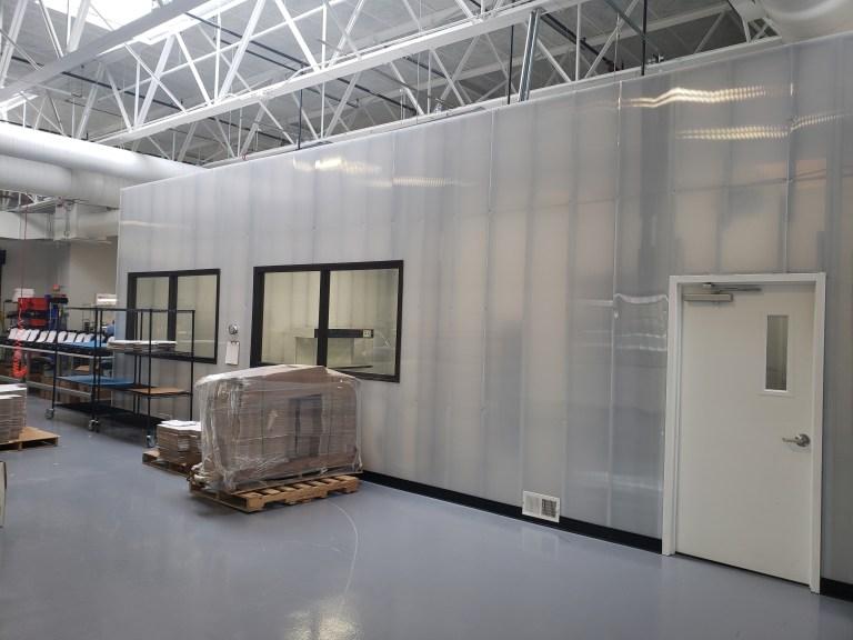 launchport clean room door