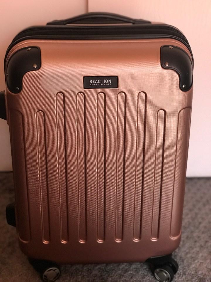 TwentyFivePlusFive Suitcase